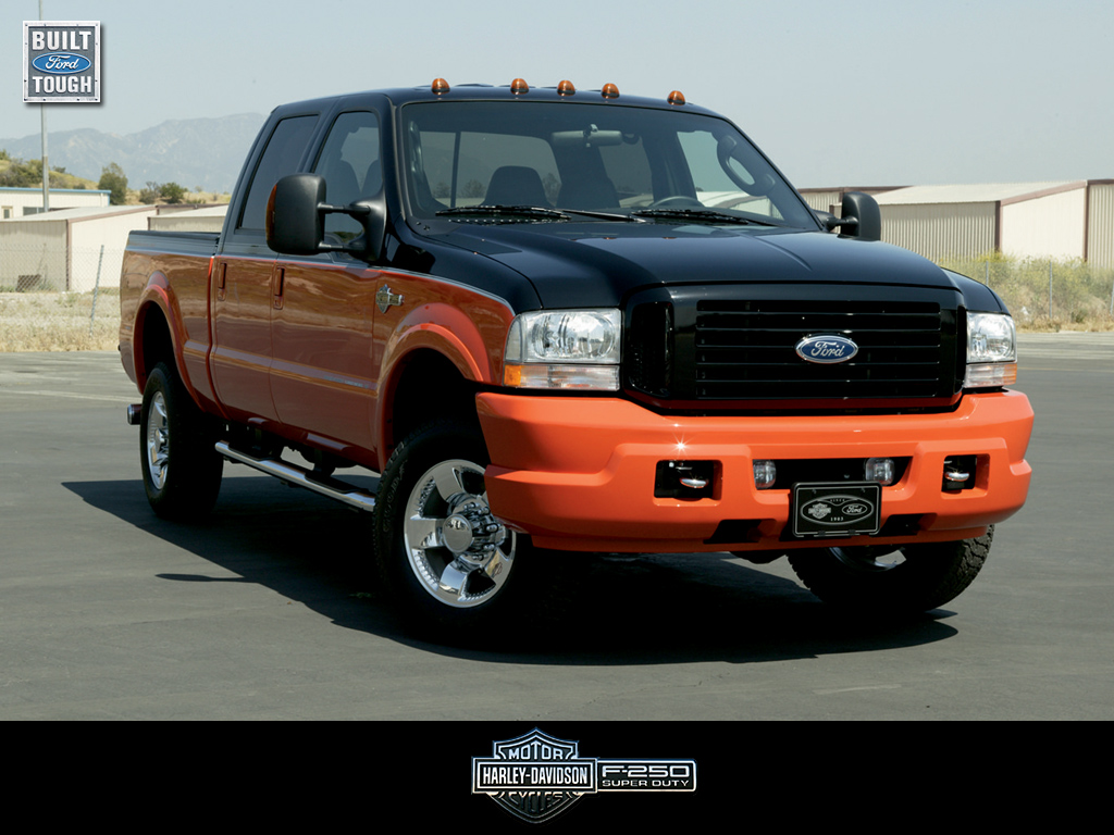 Factory Fat The Ford Harley Davidson Trucks Pictures And Information